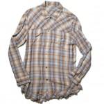 USED ITEM・UNDER COVERISM オンブレチェックシャツ SIZE:2