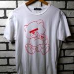 USED ITEM・UNDER COVER 目隠しベアTシャツ(復刻版) SIZE:L