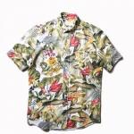 USED ITEM・AMI Alexandre Mattiussi  ボタニカルシャツ size:37
