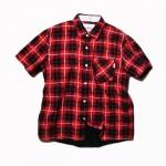 USED ITEM・WHIZ LIMITED  半袖チェックシャツ size:L