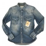USED ITEM・RUDE GALLERY BLACK REBEL デニムシャツ size:M【太田店】