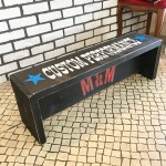 USED ITEM・M&M Furniture ペイントベンチ(900) 【太田店】SOLD OUT