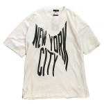 USED ITEM・UNDER COVERISM  NEW YORK CITY ビッグT size:2【太田店】