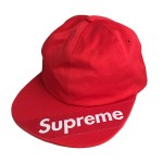 USED ITEM・Supreme  '18ss  Visor Label 6-Panel(未使用)【太田店】