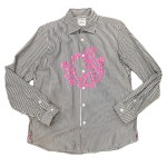 USED ITEM・uniform experiment  x  Keith Haring  ストライプシャツ size:1【太田店】