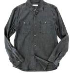 USED ITEM・RON HERMAN  ブラックデニムシャツ size:M【太田店】