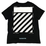 USED ITEM・OFF WHITE  DIAG TEMPERATURE S/S TEE  size:M【太田店】