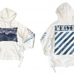 USED ITEM・OFF WHITE  WAVES HOODIE  size:L【太田店】
