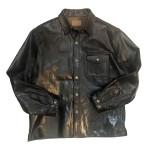 USED ITEM・MOTOR by HIDEO MOTOIKE  ホースレザーシャツジャケット size:L【太田店】